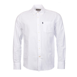 Barbour Stanley Oxford Shirt-Tailored in White