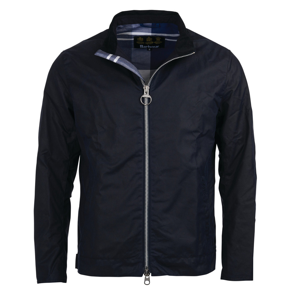 Barbour Neagh Wax Jacket Royal Navy