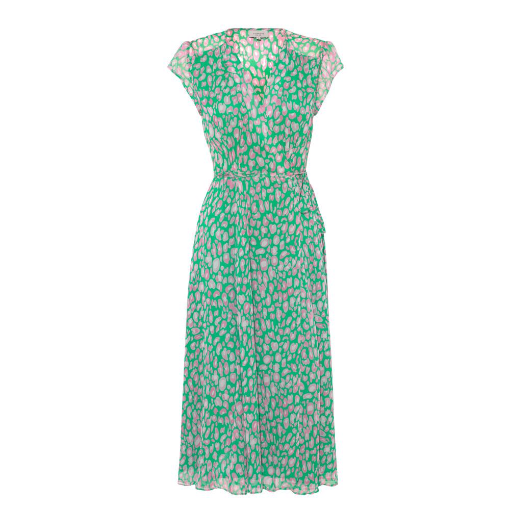 Primrose Park Annabel Wrap Dress Green