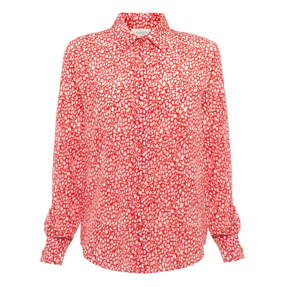 Primrose Park Gail Long Sleeve Shirt Red