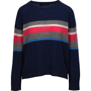 Christina Stripe Block Knit Navy/Multi