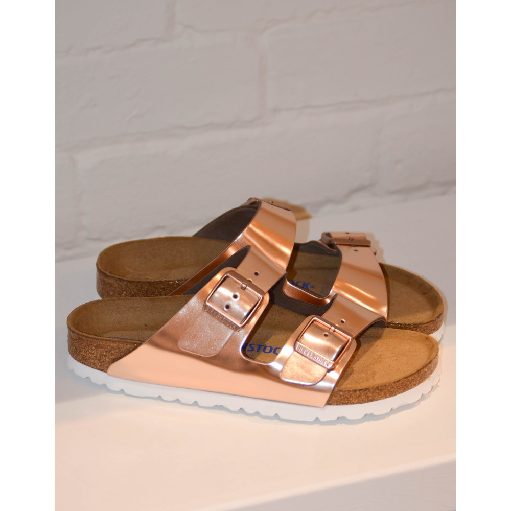Birkenstock Arizona Metallic Metallic Copper