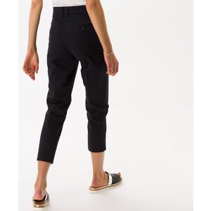Brax Mara Slim Fit Trousers Navy