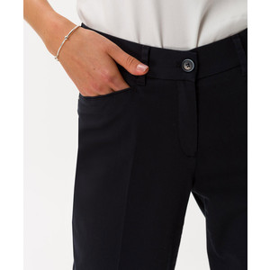 Brax Mara Slim Fit Trousers Navy