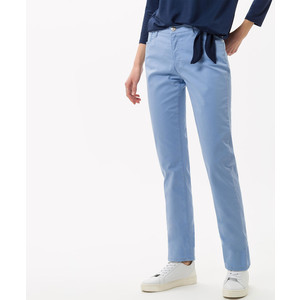 Mary Straight Leg Trouser Powder Blue