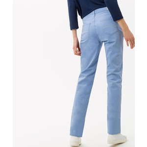 Brax Mary Straight Leg Trouser Powder Blue