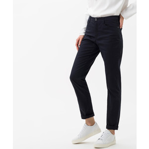 Brax Mary Straight Leg Trousers in Navy