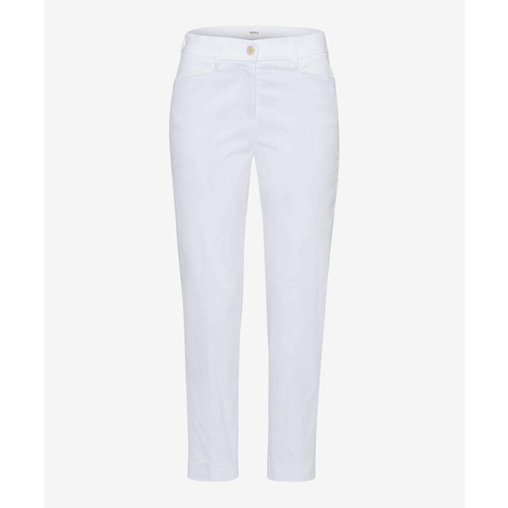 100% quality latest nice cheap Brax Mara Trousers White
