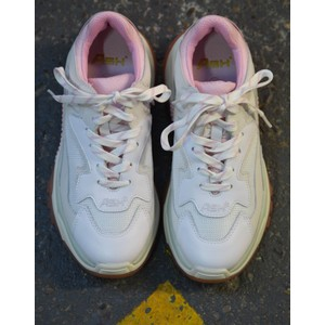 Ash Addict Trainer White/Pink/Silver