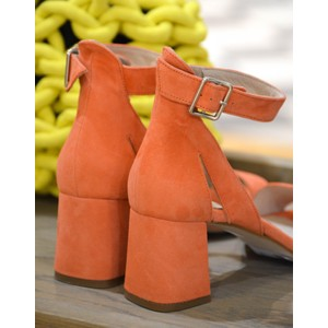 a3405373312c Shoe The Bear May Block Heel Sandal Coral