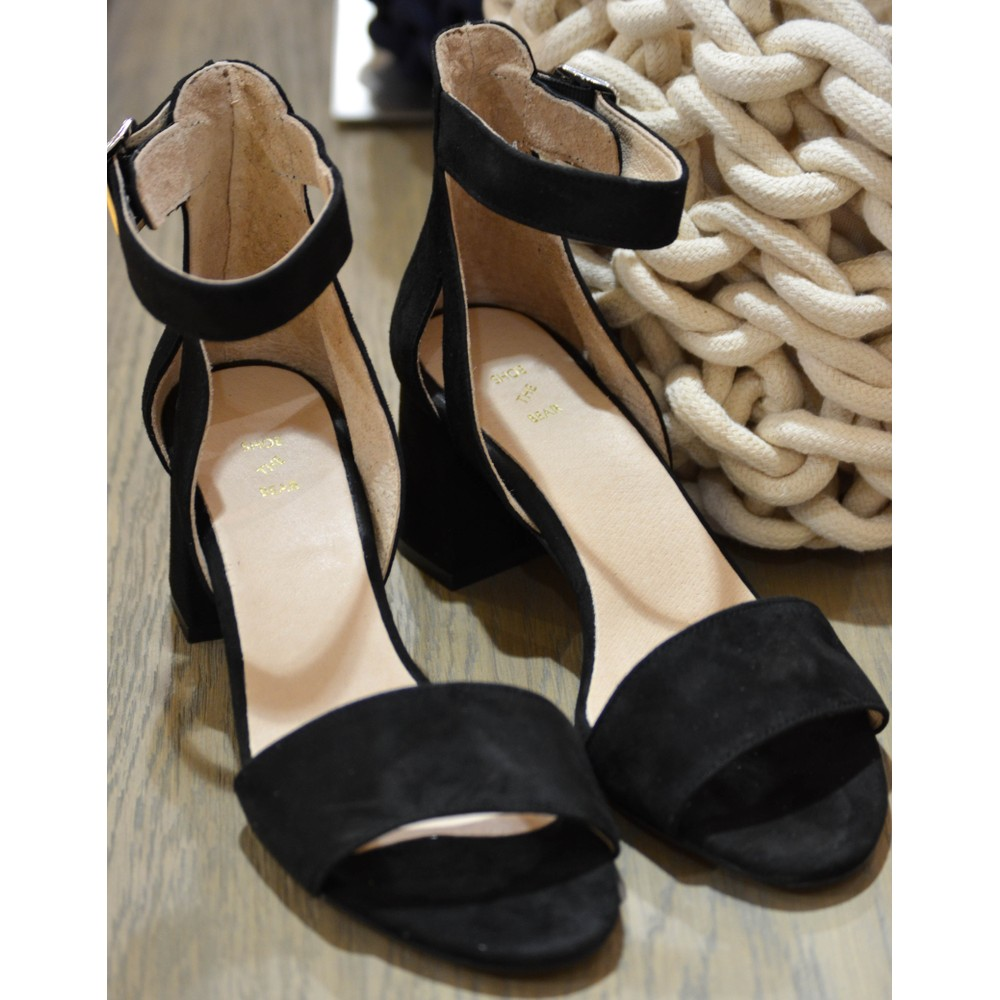 Shoe The Bear May Block Heel Sandal Black