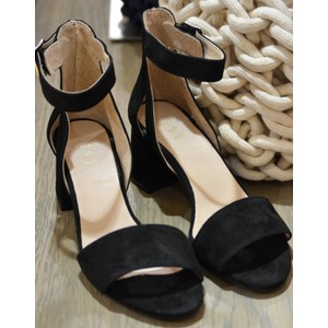 May Block Heel Sandal Black