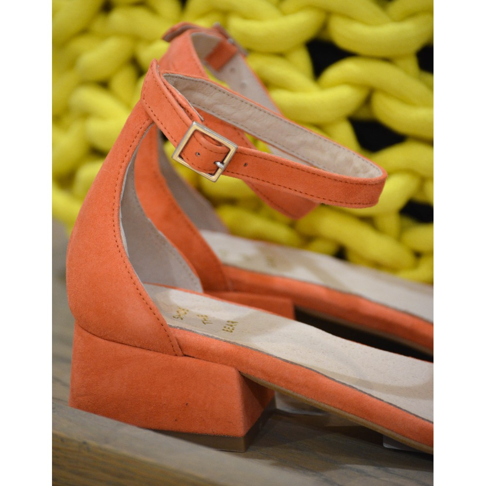 Shoe The Bear Yasmin 3 Strap Sandal Coral