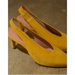 Calpierre Sling Back Point in Yellow