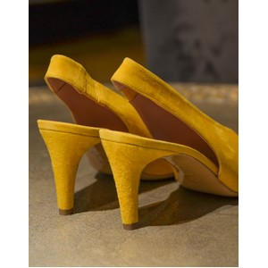 Calpierre Sling Back Point Yellow