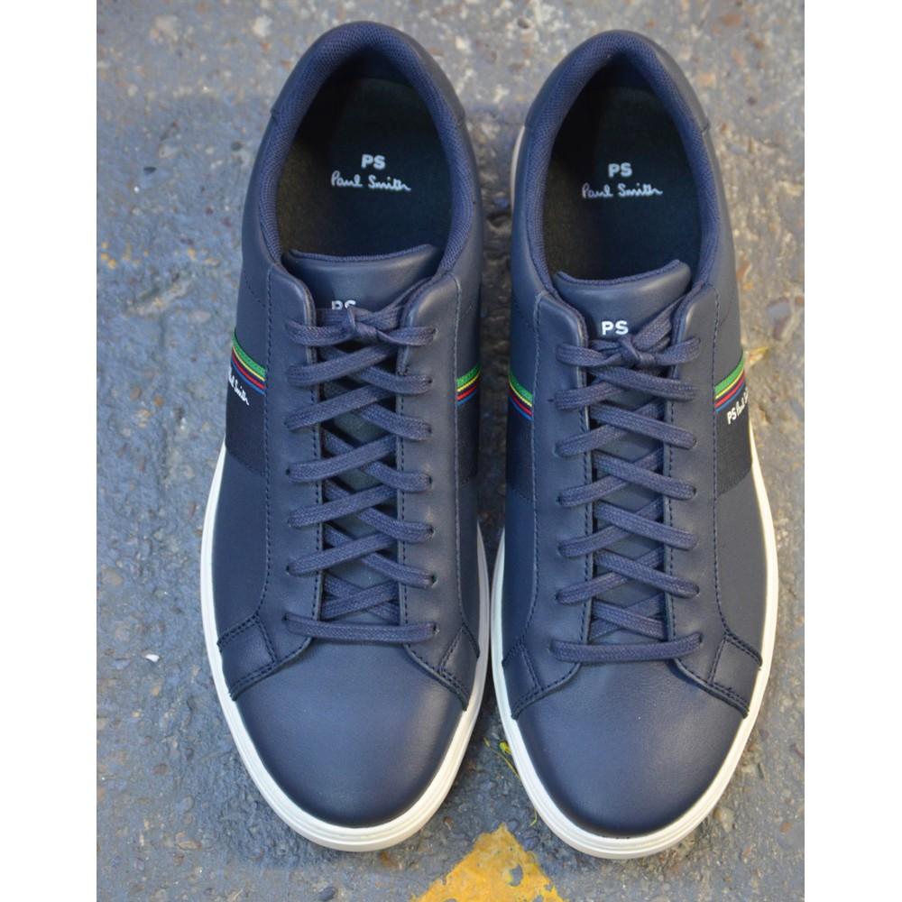 Paul Smith Shoes Rex Mono Lux Trainer Dark Navy
