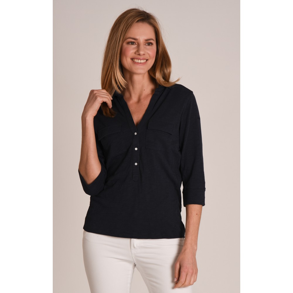 Schoffel Country Marina Jersey Shirt Navy