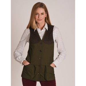 All Season Shooting Vest-W Dark Olive