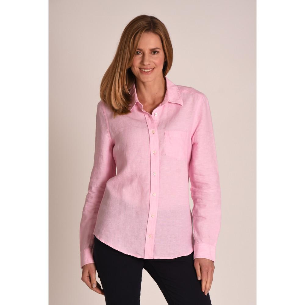 Schoffel Country Saunton Linen Shirt Pink