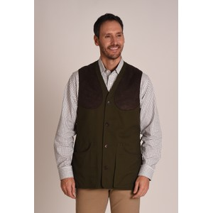 Schoffel Country All Season Shooting Vest-M in Dark Olive
