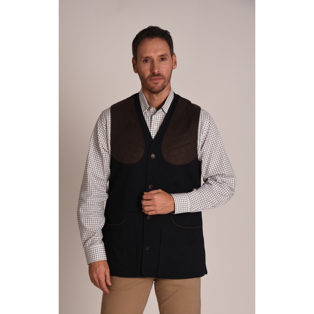 Schoffel Country All Season Shooting Vest-M Navy