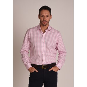 Schoffel Country Harlyn Shirt in Pink/White Micro