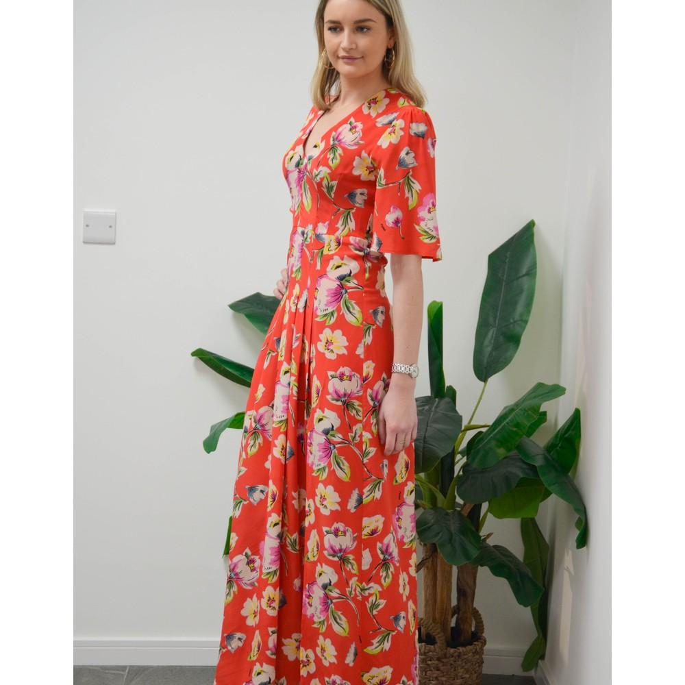 Pyrus Dahliah Tuscan Maxi Dress Red/Multi
