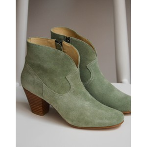 Wilma Ankle Boot Mint Green