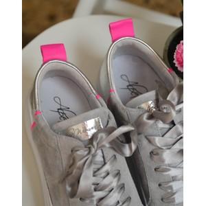 Alpe Ribbon Lace Flatform Pearl