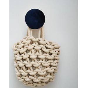 Alienina Julia Bucket Bag White