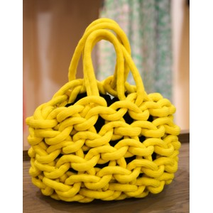 Julia Bucket Bag Yellow/Black