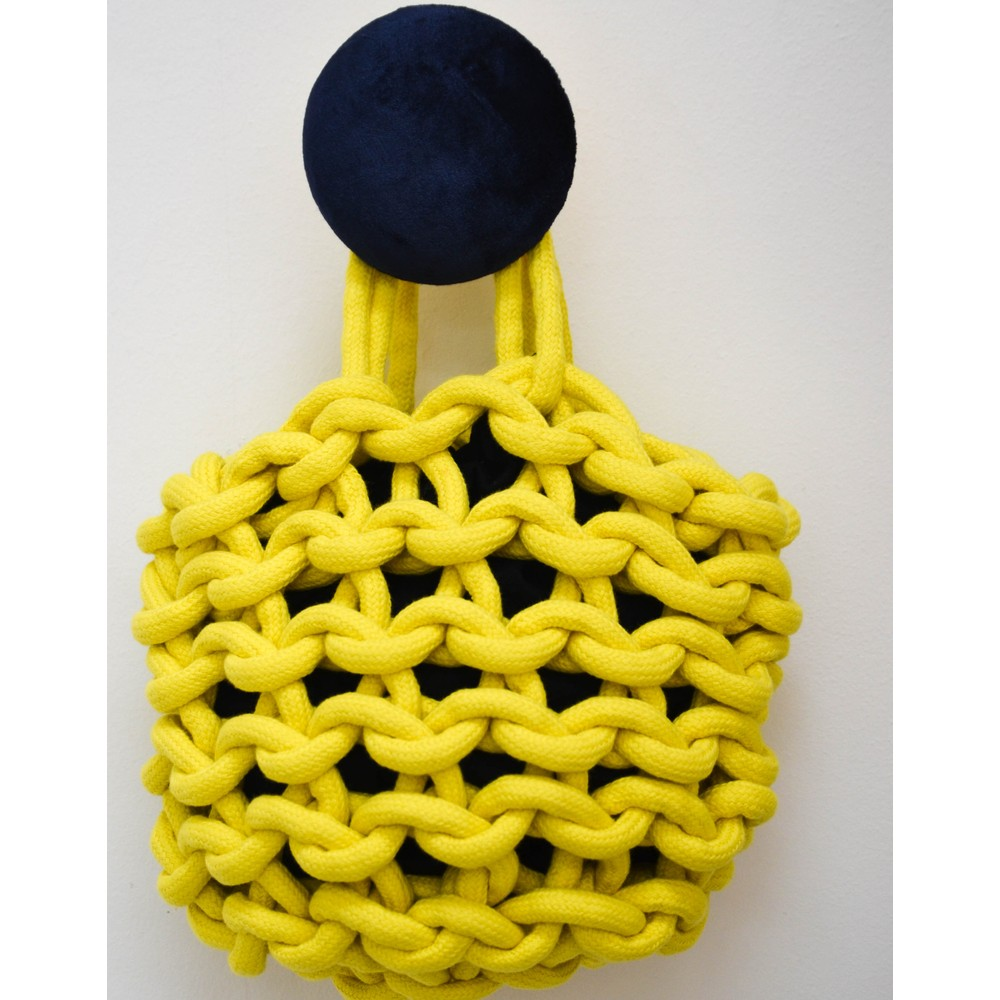 Alienina Julia Bucket Bag Yellow/Black