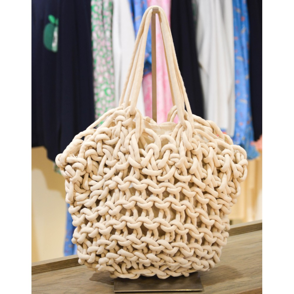 Alienina Bea Tote Bag White