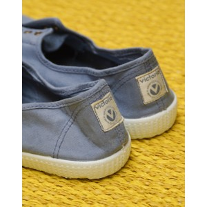 Victoria Dora No Laces Plimsoll Blue
