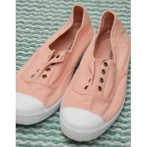 Dora No Laces Plimsoll Ballet Pink