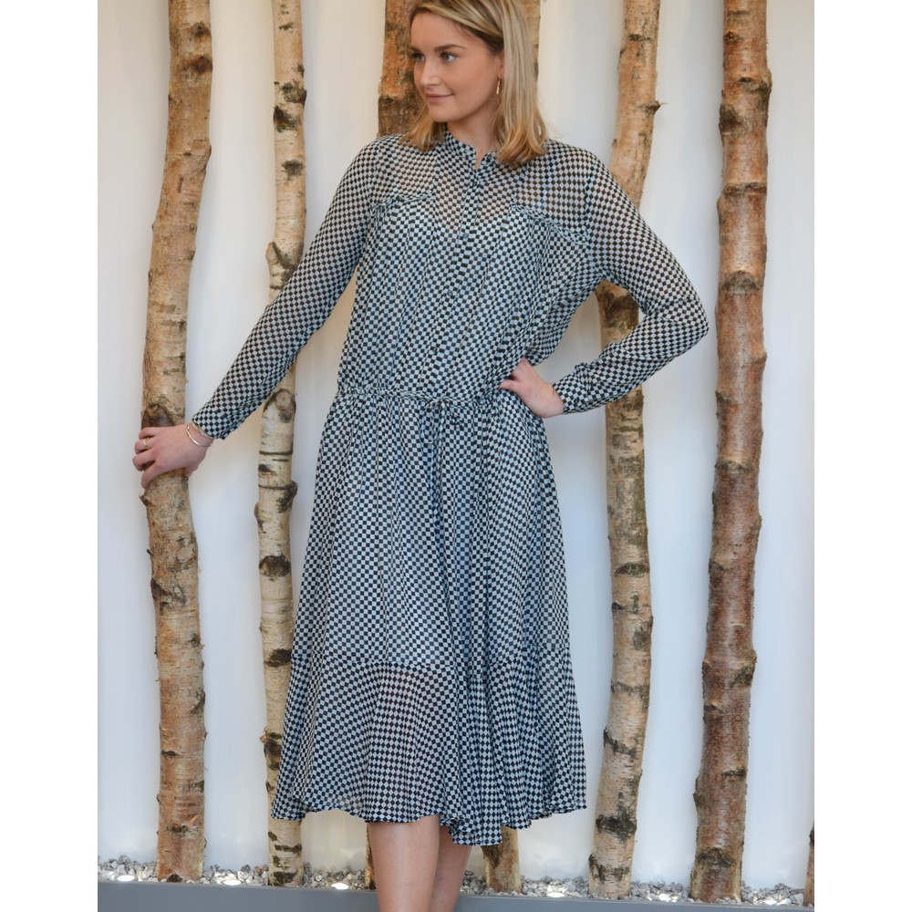 Custommade Cilje Long Sleeve Long Dress Skyway