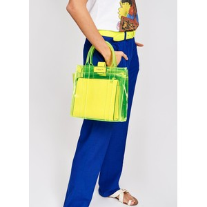 Essentiel Antwerp Smooch Transparent Bag Yellow