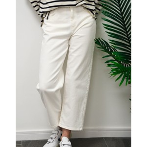 Weekend Maxmara Dolce Hi Wst Tapered Jeans Off White