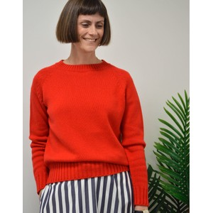 Weekend Maxmara Monile Cashmere and Cotton Sweater Red