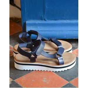 Alma Micro Sandal Navy