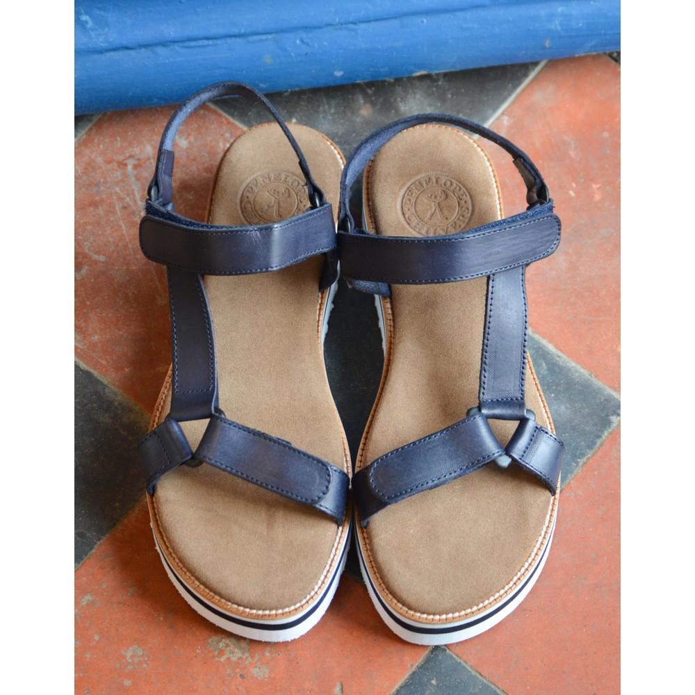 Penelope Chilvers Alma Micro Sandal Navy