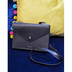Envelope Key Cross Body Bag Black