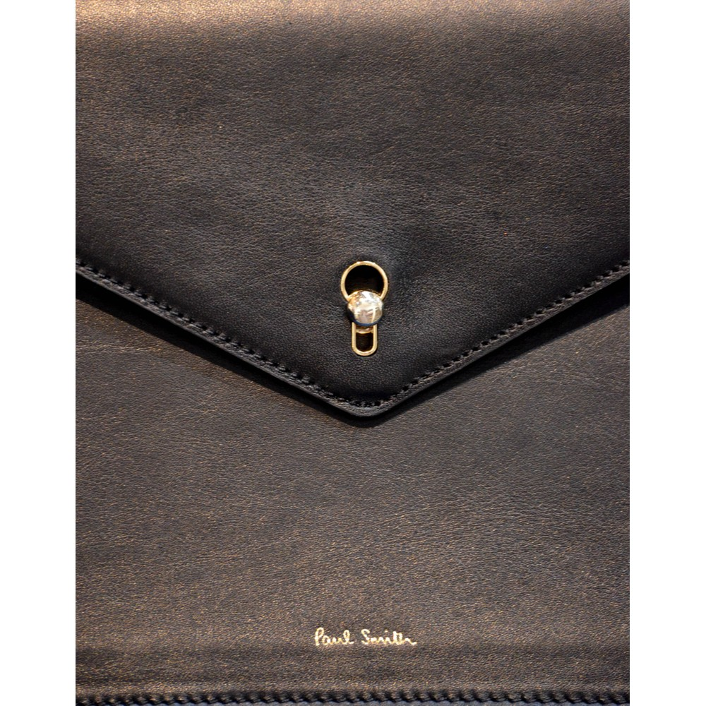 Paul Smith Accessories Envelope Key Satchel Black