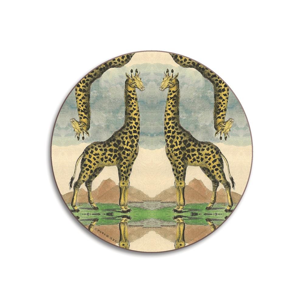 Avenida Home Giraffe Coaster Green/Blue