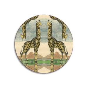 Giraffe Coaster Green/Blue