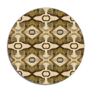 Tiger Placemat Brown