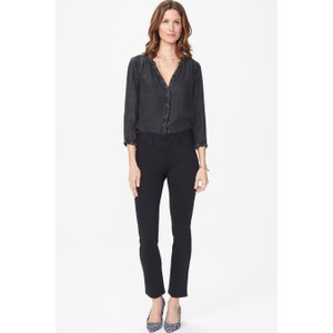 NYDJ Sheri Slim Trouser in Black