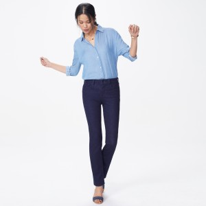 Sheri Straight Leg Slim fit Jean Rinse