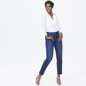 NYDJ Sheri Straight Leg Slim fit Jean in Cooper