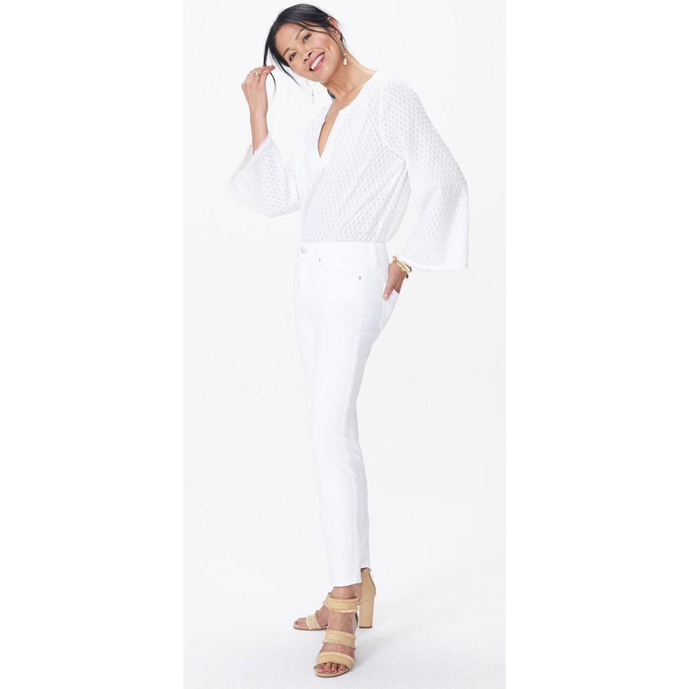 NYDJ Alina Ankle Jean Optic White